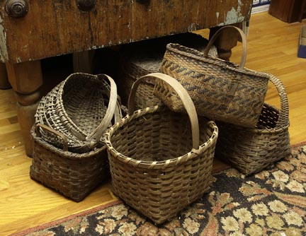 Mary L Weisfeld Living Estate Collection Abingdon Va. - A_small_group_of_the_baskets.jpg