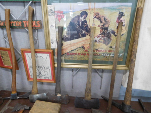 Advertising, Large Keen Kutter, Vintage toy, Jars Etc two Estate Collections - DSCN9477.JPG