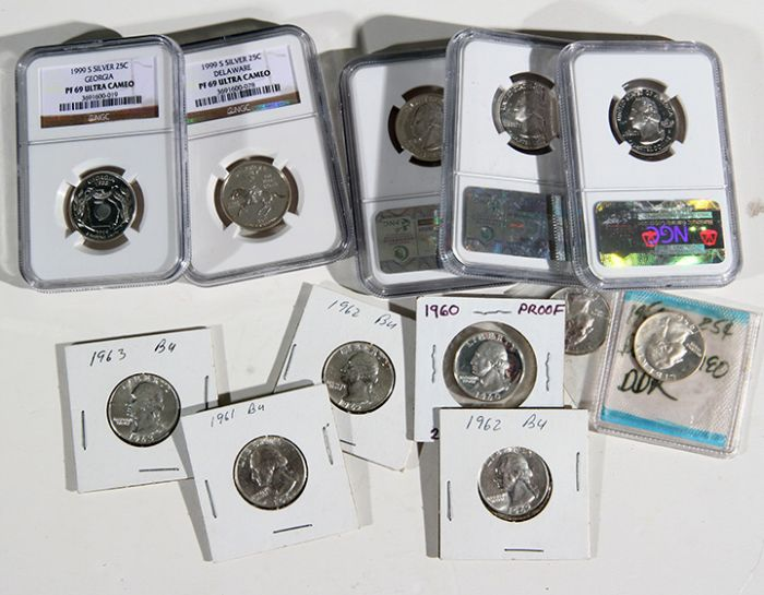 Rare Proof Coins and others, Fine Military-Modern- And Long Guns- A St. Louis Cane Collection - 106_1.jpg
