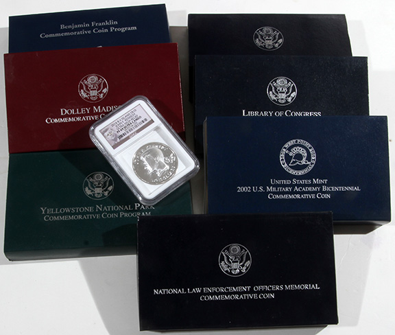 Rare Proof Coins and others, Fine Military-Modern- And Long Guns- A St. Louis Cane Collection - 132_1.jpg
