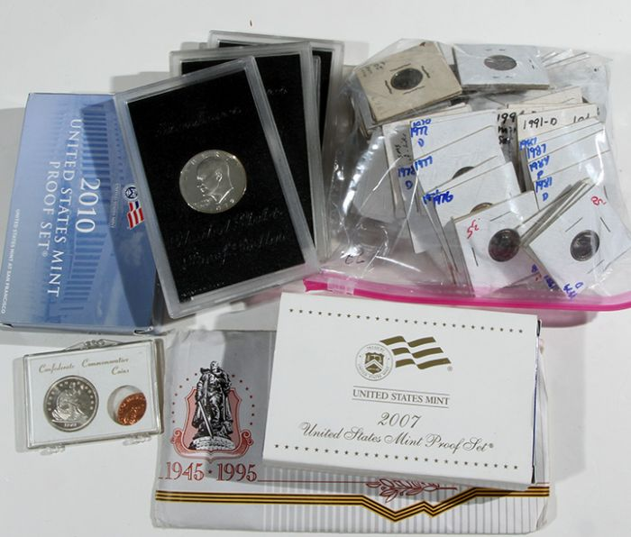Rare Proof Coins and others, Fine Military-Modern- And Long Guns- A St. Louis Cane Collection - 133_1.jpg
