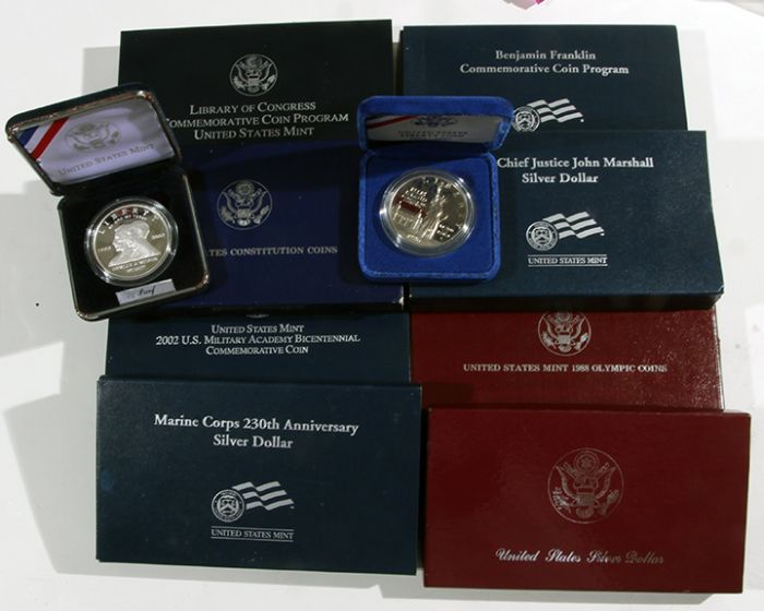 Rare Proof Coins and others, Fine Military-Modern- And Long Guns- A St. Louis Cane Collection - 139_1.jpg