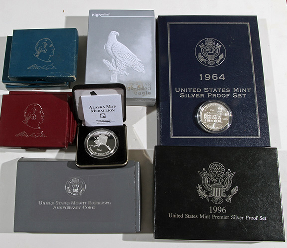 Rare Proof Coins and others, Fine Military-Modern- And Long Guns- A St. Louis Cane Collection - 143_1.jpg