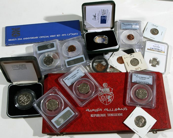 Rare Proof Coins and others, Fine Military-Modern- And Long Guns- A St. Louis Cane Collection - 144_1.jpg