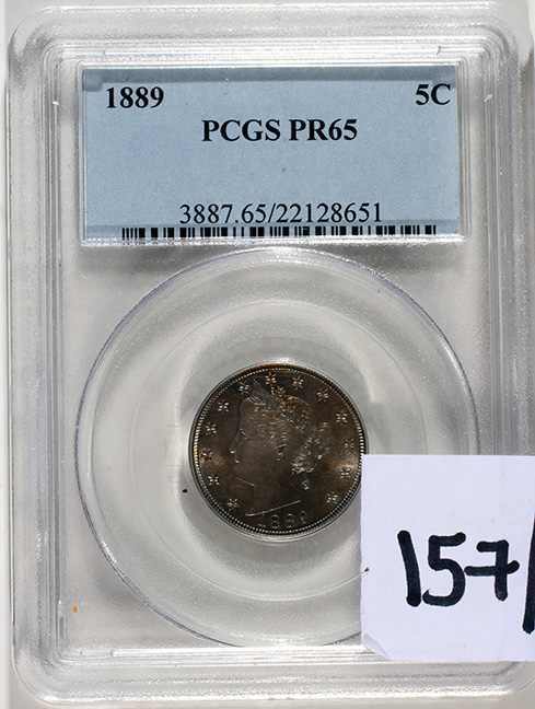 Rare Proof Coins and others, Fine Military-Modern- And Long Guns- A St. Louis Cane Collection - 157_1.jpg
