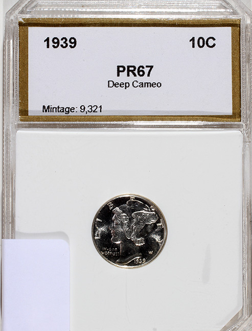Rare Proof Coins and others, Fine Military-Modern- And Long Guns- A St. Louis Cane Collection - 167_1.jpg