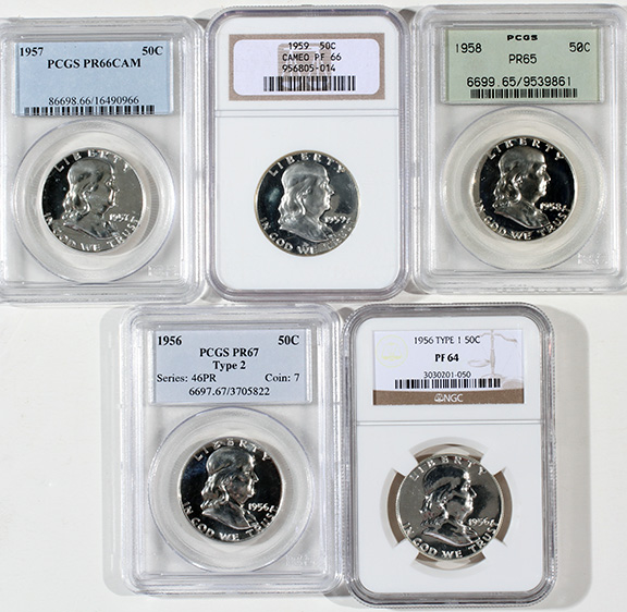 Rare Proof Coins and others, Fine Military-Modern- And Long Guns- A St. Louis Cane Collection - 181_1.jpg