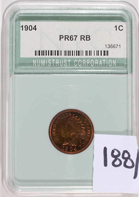 Rare Proof Coins and others, Fine Military-Modern- And Long Guns- A St. Louis Cane Collection - 188_1.jpg
