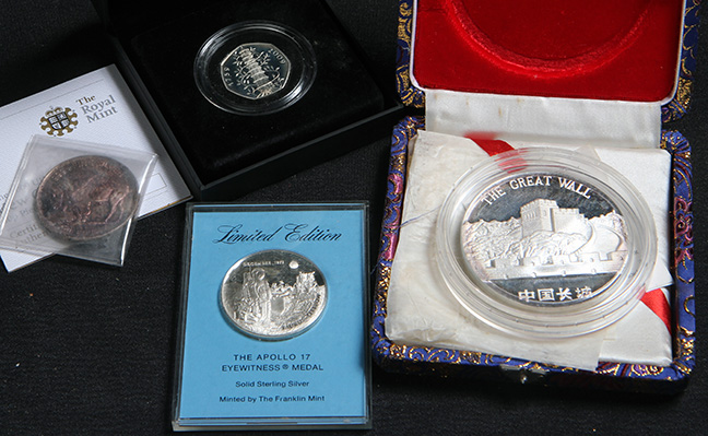 Rare Proof Coins and others, Fine Military-Modern- And Long Guns- A St. Louis Cane Collection - 18_1.jpg