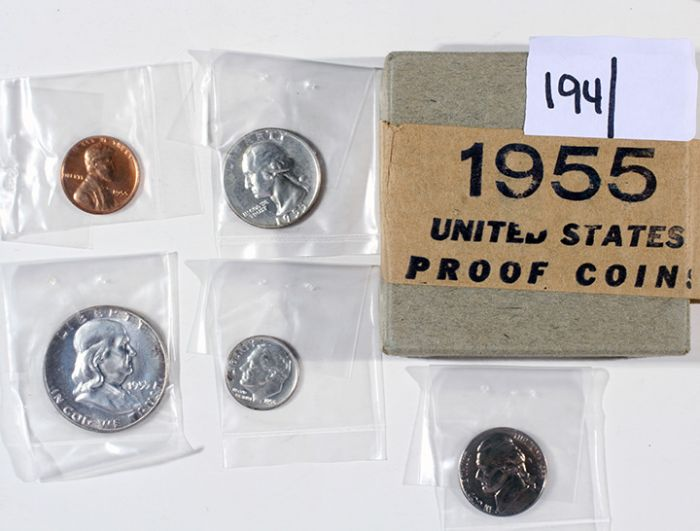 Rare Proof Coins and others, Fine Military-Modern- And Long Guns- A St. Louis Cane Collection - 194_1.jpg