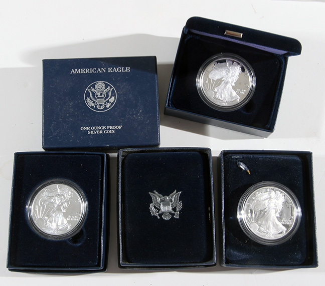 Rare Proof Coins and others, Fine Military-Modern- And Long Guns- A St. Louis Cane Collection - 29_1.jpg