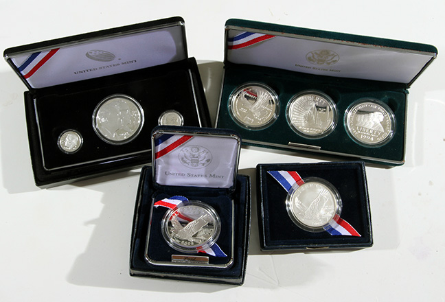 Rare Proof Coins and others, Fine Military-Modern- And Long Guns- A St. Louis Cane Collection - 30_1.jpg