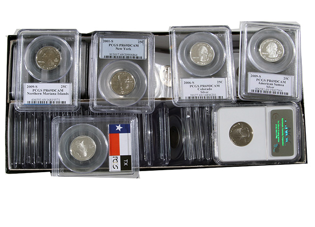 Rare Proof Coins and others, Fine Military-Modern- And Long Guns- A St. Louis Cane Collection - 50_1.jpg