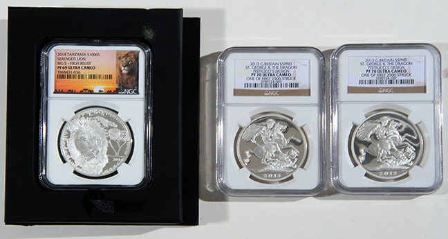 Rare Proof Coins and others, Fine Military-Modern- And Long Guns- A St. Louis Cane Collection - 57_1.jpg