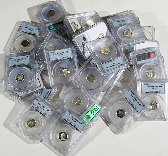 Rare Proof Coins and others, Fine Military-Modern- And Long Guns- A St. Louis Cane Collection - 65_1.jpg