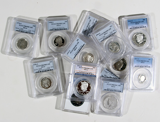 Rare Proof Coins and others, Fine Military-Modern- And Long Guns- A St. Louis Cane Collection - 72_1.jpg