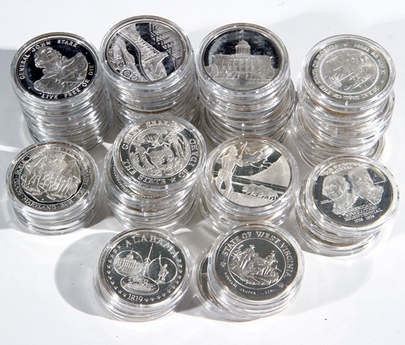 Rare Proof Coins and others, Fine Military-Modern- And Long Guns- A St. Louis Cane Collection - 86_1.jpg