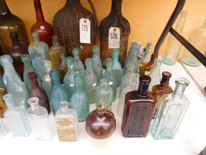 Ralph Van Brocklin Estate- Bottles- Post and Trade cards--Mini Jugs and other advertising - DSCN9638.JPG