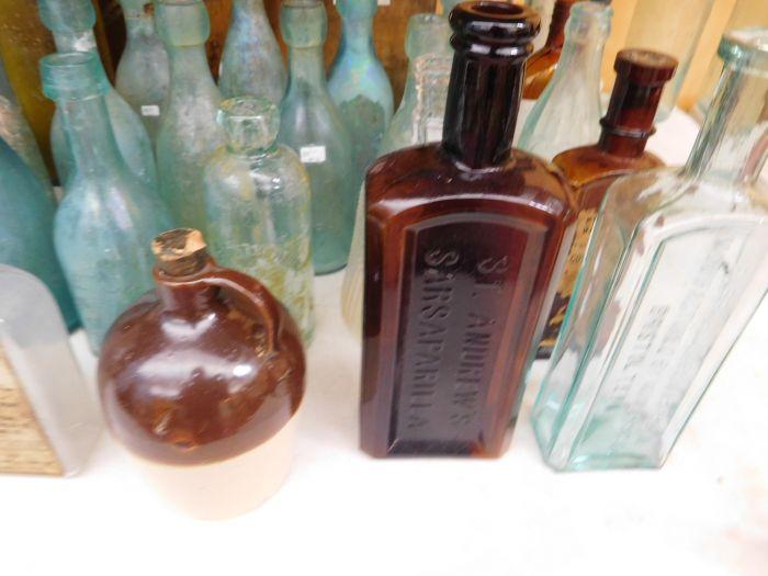 Ralph Van Brocklin Estate- Bottles- Post and Trade cards--Mini Jugs and other advertising - DSCN9643.JPG