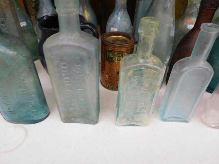 Ralph Van Brocklin Estate- Bottles- Post and Trade cards--Mini Jugs and other advertising - DSCN9644.JPG