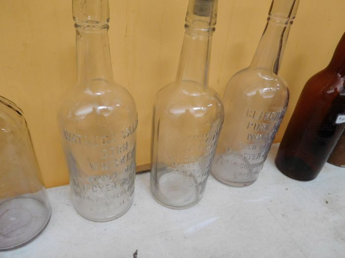 Ralph Van Brocklin Estate- Bottles- Post and Trade cards--Mini Jugs and other advertising - DSCN9647.JPG