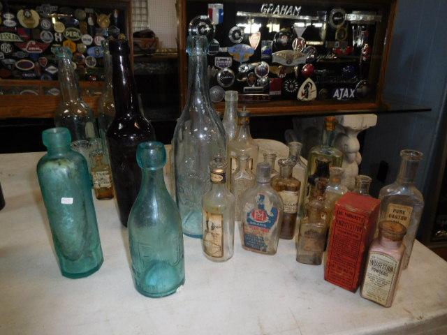 Ralph Van Brocklin Estate- Bottles- Post and Trade cards--Mini Jugs and other advertising - DSCN9914.JPG