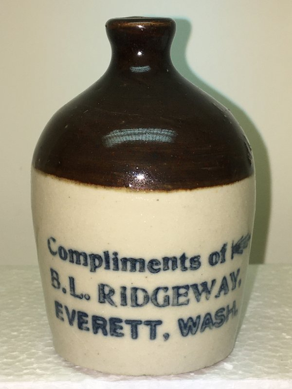 Ralph Van Brocklin Estate- Bottles- Post and Trade cards--Mini Jugs and other advertising - IMG_3054.JPG