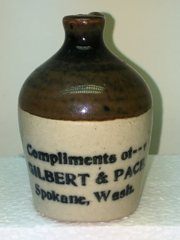 Ralph Van Brocklin Estate- Bottles- Post and Trade cards--Mini Jugs and other advertising - IMG_3066.JPG