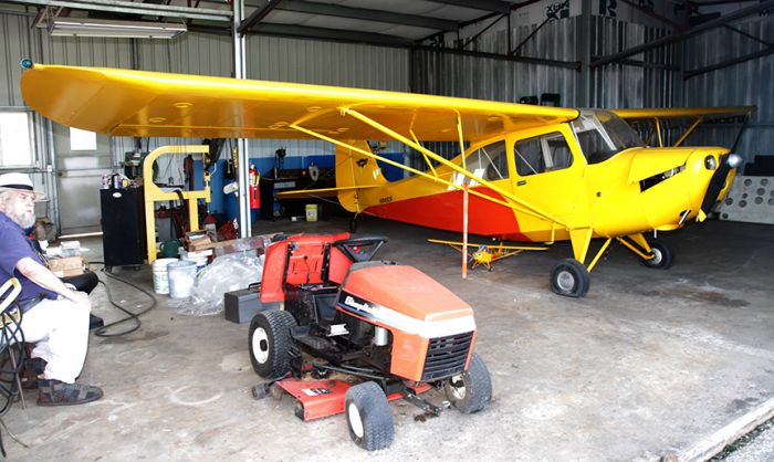 James Summers Estate- Areonca L-3( 1941), Piper Cub Coupe J4 S( 1940),  Aeronca  7 ac (1946)Champ, Studebaker Silver Hawk,1963 Volvo 1800 ( plus a Street Rod and a 2007 42 foot Gulf Stream RV) and more  - 3_7.jpg