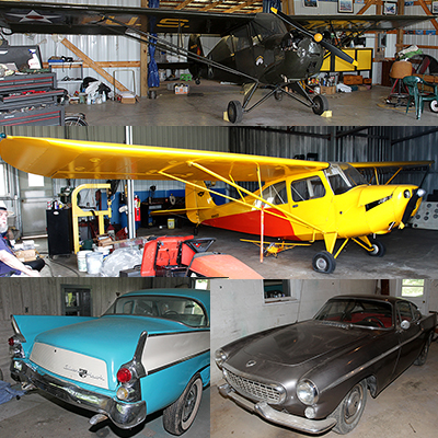 James Summers Estate- Areonca L-3( 1941), Piper Cub Coupe J4 S( 1940),  Aeronca  7 ac (1946)Champ, Studebaker Silver Hawk,1963 Volvo 1800 ( plus a Street Rod and a 2007 42 foot Gulf Stream RV) and more  - hawkins_co_400.jpg